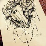 фото эскизы тату дотворк от 10.10.2017 №086 - sketches tattoo dotwork - tatufoto.com