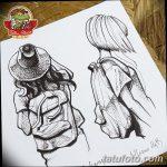 фото эскизы тату дотворк от 10.10.2017 №096 - sketches tattoo dotwork - tatufoto.com
