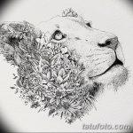 фото эскизы тату дотворк от 10.10.2017 №099 - sketches tattoo dotwork - tatufoto.com