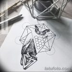 фото эскизы тату дотворк от 10.10.2017 №107 - sketches tattoo dotwork - tatufoto.com