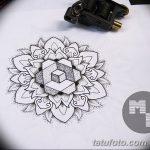 фото эскизы тату дотворк от 10.10.2017 №108 - sketches tattoo dotwork - tatufoto.com