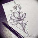 фото эскизы тату дотворк от 10.10.2017 №111 - sketches tattoo dotwork - tatufoto.com
