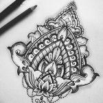 фото эскизы тату дотворк от 10.10.2017 №115 - sketches tattoo dotwork - tatufoto.com