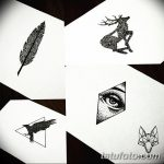 фото эскизы тату дотворк от 10.10.2017 №117 - sketches tattoo dotwork - tatufoto.com