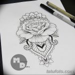 фото эскизы тату дотворк от 10.10.2017 №121 - sketches tattoo dotwork - tatufoto.com