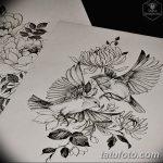 фото эскизы тату дотворк от 10.10.2017 №123 - sketches tattoo dotwork - tatufoto.com