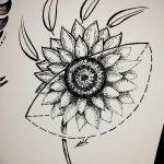 фото эскизы тату дотворк от 10.10.2017 №124 - sketches tattoo dotwork - tatufoto.com
