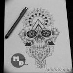 фото эскизы тату дотворк от 10.10.2017 №129 - sketches tattoo dotwork - tatufoto.com