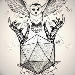 фото эскизы тату дотворк от 10.10.2017 №131 - sketches tattoo dotwork - tatufoto.com