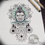 фото эскизы тату дотворк от 10.10.2017 №146 - sketches tattoo dotwork - tatufoto.com