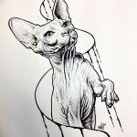 фото эскизы тату дотворк от 10.10.2017 №164 - sketches tattoo dotwork - tatufoto.com