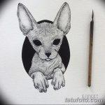 фото эскизы тату дотворк от 10.10.2017 №182 - sketches tattoo dotwork - tatufoto.com