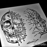 фото эскизы тату дотворк от 10.10.2017 №191 - sketches tattoo dotwork - tatufoto.com