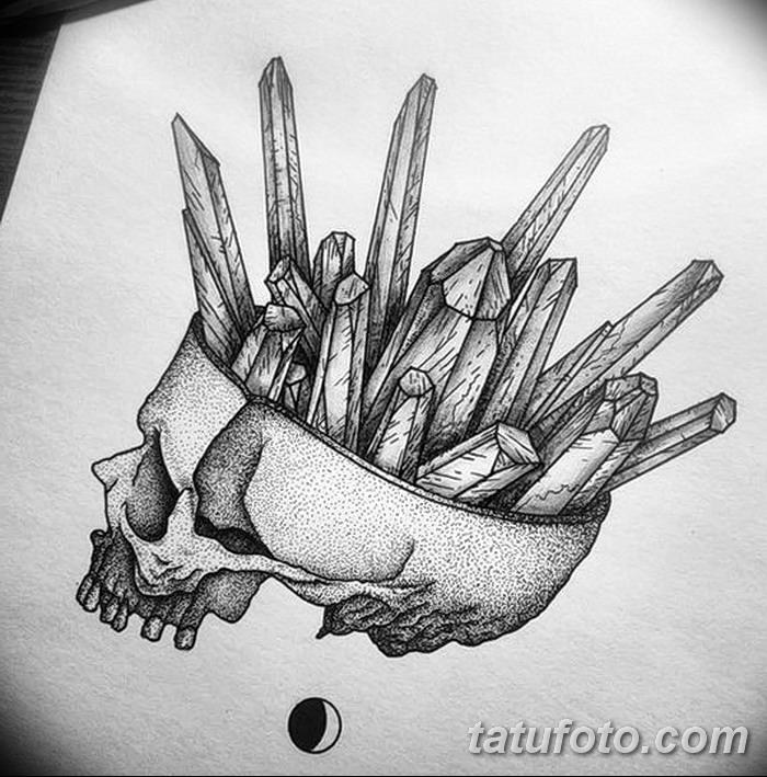 фото эскизы тату дотворк от 10.10.2017 №193 - sketches tattoo dotwork - tatufoto.com