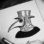 фото эскизы тату дотворк от 10.10.2017 №194 - sketches tattoo dotwork - tatufoto.com