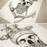 фото эскизы тату дотворк от 10.10.2017 №201 - sketches tattoo dotwork - tatufoto.com