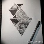 фото эскизы тату дотворк от 10.10.2017 №207 - sketches tattoo dotwork - tatufoto.com