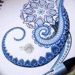 фото эскизы тату дотворк от 10.10.2017 №213 - sketches tattoo dotwork - tatufoto.com
