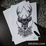фото эскизы тату дотворк от 10.10.2017 №216 - sketches tattoo dotwork - tatufoto.com