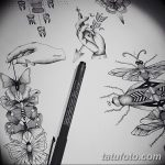 фото эскизы тату дотворк от 10.10.2017 №228 - sketches tattoo dotwork - tatufoto.com