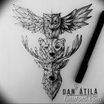 фото эскизы тату дотворк от 10.10.2017 №242 - sketches tattoo dotwork - tatufoto.com