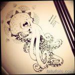 фото эскизы тату дотворк от 10.10.2017 №257 - sketches tattoo dotwork - tatufoto.com