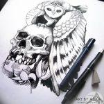 фото эскизы тату дотворк от 10.10.2017 №259 - sketches tattoo dotwork - tatufoto.com