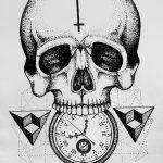 фото эскизы тату дотворк от 10.10.2017 №263 - sketches tattoo dotwork - tatufoto.com