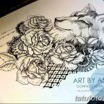 фото эскизы тату дотворк от 10.10.2017 №267 - sketches tattoo dotwork - tatufoto.com