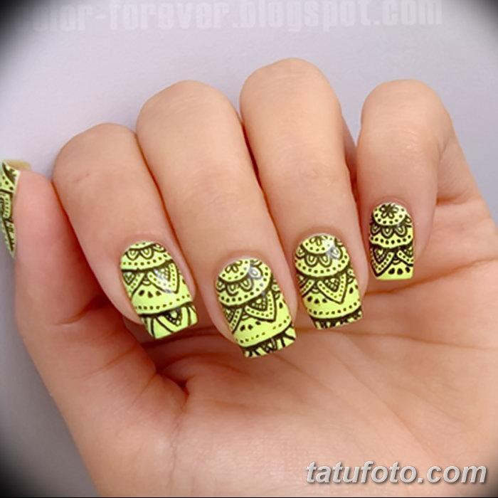 фото Мехенди маникюр от 18.11.2017 №001 - Mehendi manicure - tatufoto.com