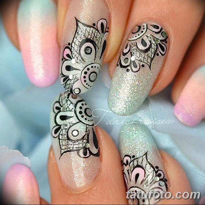 фото Мехенди маникюр от 18.11.2017 №006 - Mehendi manicure - tatufoto.com