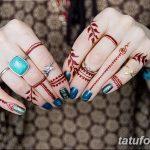 фото Мехенди маникюр от 18.11.2017 №035 - Mehendi manicure - tatufoto.com
