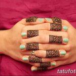 фото Мехенди маникюр от 18.11.2017 №042 - Mehendi manicure - tatufoto.com