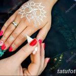 фото Мехенди маникюр от 18.11.2017 №049 - Mehendi manicure - tatufoto.com
