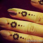 фото Мехенди маникюр от 18.11.2017 №054 - Mehendi manicure - tatufoto.com
