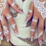 фото Мехенди маникюр от 18.11.2017 №068 - Mehendi manicure - tatufoto.com