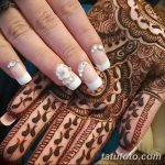 фото Мехенди маникюр от 18.11.2017 №075 - Mehendi manicure - tatufoto.com