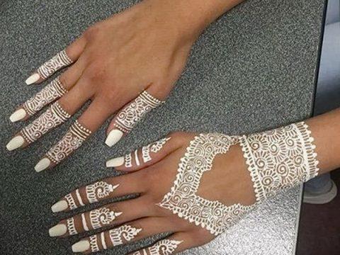 фото Мехенди маникюр от 18.11.2017 №084 - Mehendi manicure - tatufoto.com