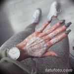 фото Мехенди маникюр от 18.11.2017 №085 - Mehendi manicure - tatufoto.com