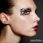 фото Мехенди на лице от 27.11.2017 №024 - Mehendi's face - tatufoto.com