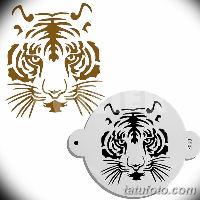 фото Мехенди тигр от 10.11.2017 №003 - Mehendi Tiger - tatufoto.com