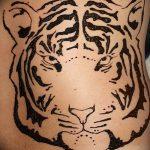 фото Мехенди тигр от 10.11.2017 №024 - Mehendi Tiger - tatufoto.com