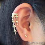 фото Пирсинг уха от 20.11.2017 №004 - Ear piercing - tatufoto.com