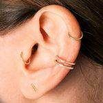 фото Пирсинг уха от 20.11.2017 №009 - Ear piercing - tatufoto.com