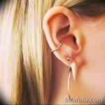 фото Пирсинг уха от 20.11.2017 №014 - Ear piercing - tatufoto.com