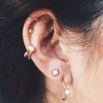 фото Пирсинг уха от 20.11.2017 №017 - Ear piercing - tatufoto.com
