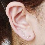 фото Пирсинг уха от 20.11.2017 №018 - Ear piercing - tatufoto.com