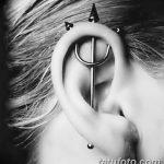 фото Пирсинг уха от 20.11.2017 №019 - Ear piercing - tatufoto.com