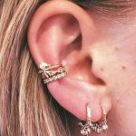 фото Пирсинг уха от 20.11.2017 №020 - Ear piercing - tatufoto.com