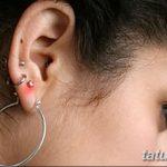 фото Пирсинг уха от 20.11.2017 №030 - Ear piercing - tatufoto.com